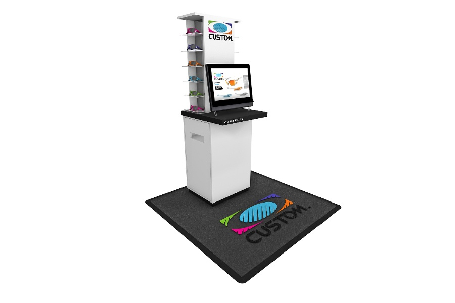 oakley custom kiosk