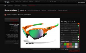oakley custom web