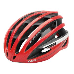 Louis Garneau Course helmet red