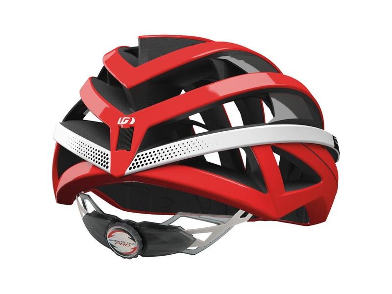Louis Garneau Course helmet red back