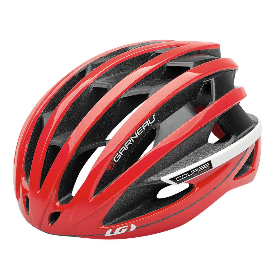 Louis Garneau Course helmet red