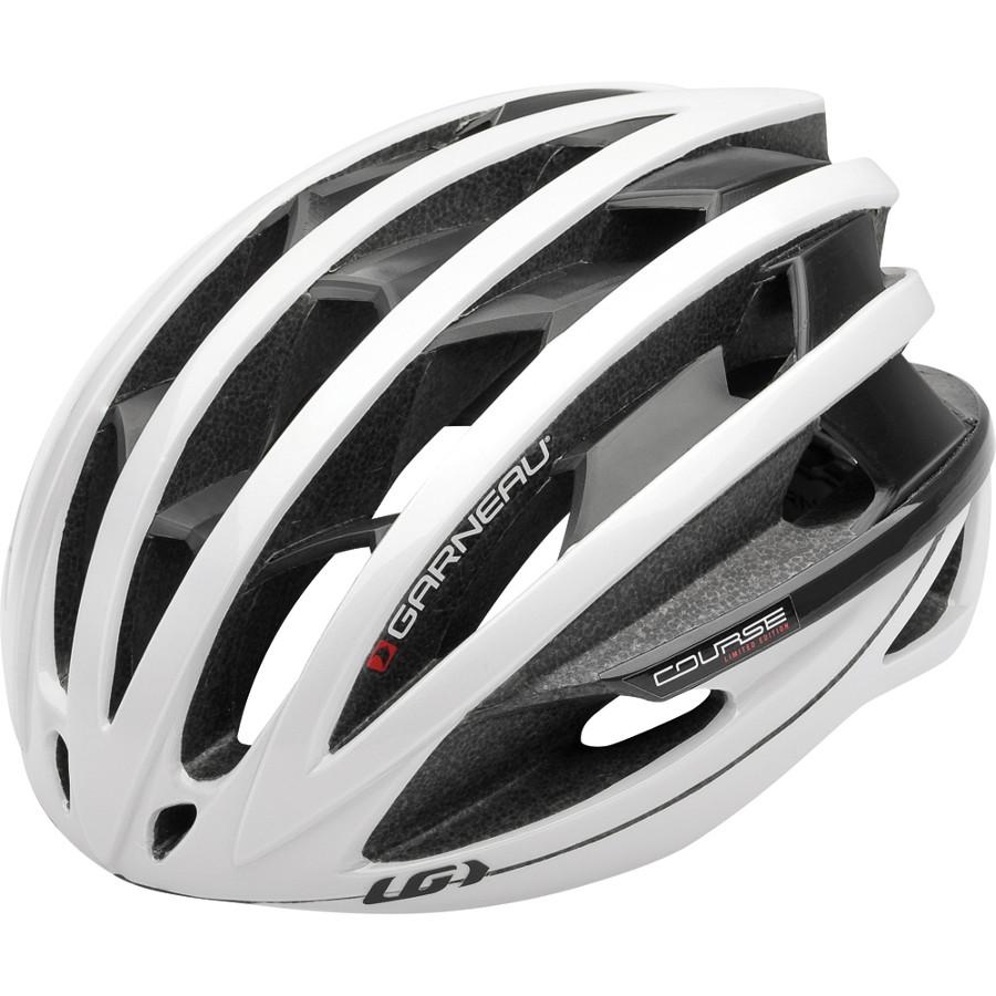 Louis Garneau Course helmet white black