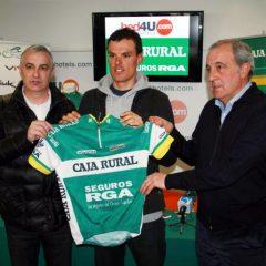 Luis León Sánchez ya es corredor del Caja Rural-Seguros RGA