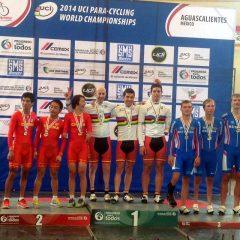 España logra cinco medallas en el Mundial de ciclismo adaptado en pista
