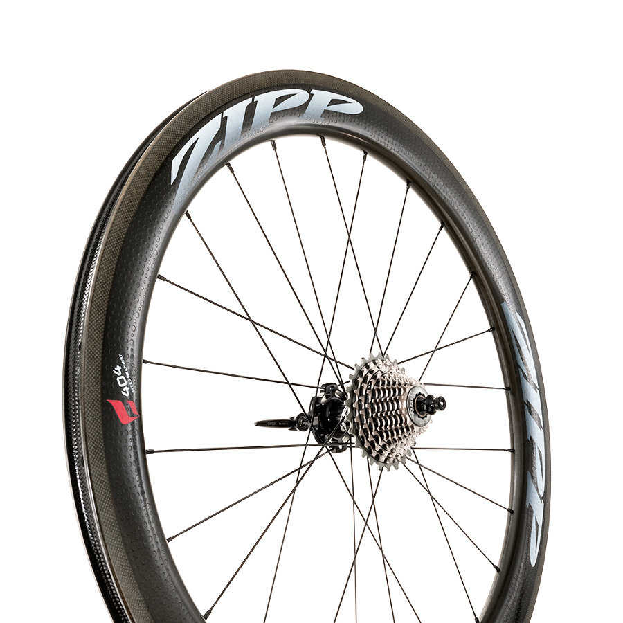 Zipp 404 Firestrike wheel
