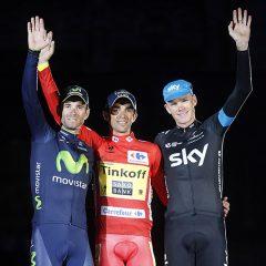 Contador suma su tercera Vuelta a España