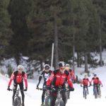 entrenamiento nieve