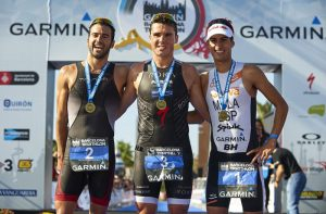 Podio garmin triatlon