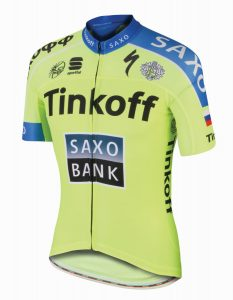 sportful tinkoff saxo maillot