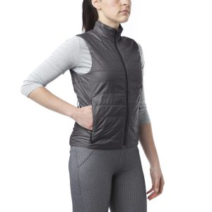 giro insulated vest grey
