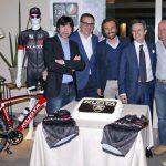 Bugno y Chiappucci, juntos con Kuota