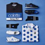 Colección de ropa Le Coq Sportif x colette