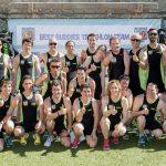 Pereiro y Romay, con el Best Buddies Triathlon Team