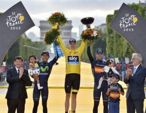 Podium Tour Francia