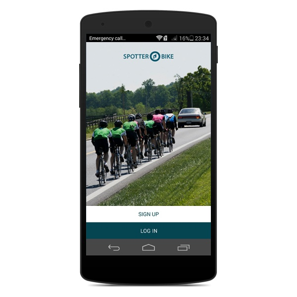 spotter bike app