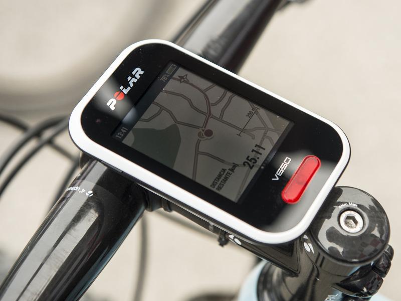 Mapas GPS Polar V650