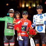 Los nuevos maillots de La Vuelta serán Santini