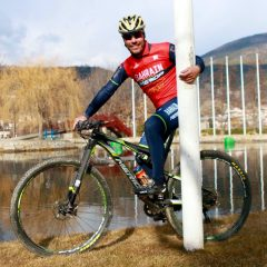 Purito debuta en el mountain bike