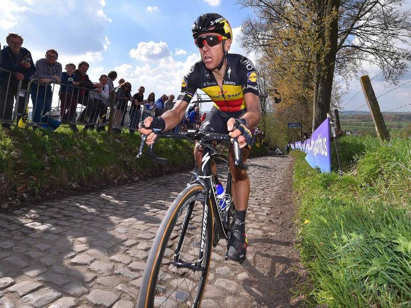 Philippe Gilbert en el Tour de Flandes 2017