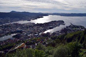 Bergen fiordos