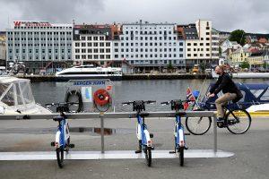 Bergen en bicicleta
