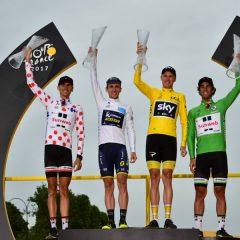 Tour de Francia 2017: Clasificaciones finales