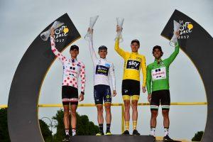 Líderes Tour de Francia 2017