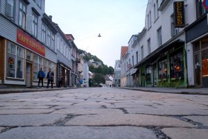 Bergen 2017 paves