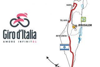 Descubre la salida del Giro de Italia 2018 en Israel