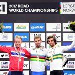 Video: Triplete histórico de Sagan en Bergen
