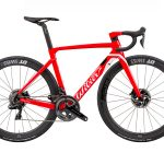 Wilier Cento10AIR Disc rojo