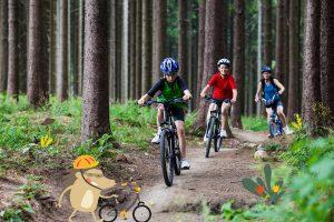 Bikefriendly Kids rutas
