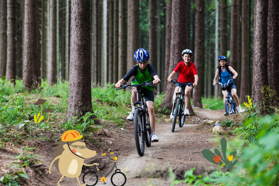 Bikefriendly Kids rutas