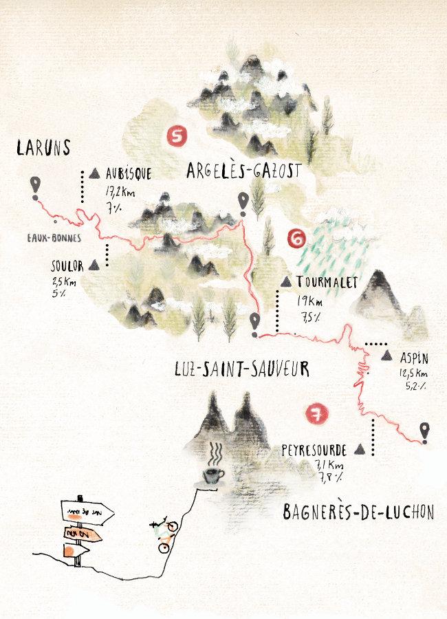 Mapa Pirenaica 2