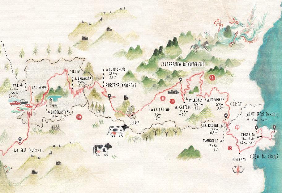Mapa Pirenaica 4