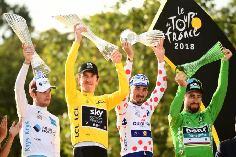 Ganadores Tour Francia 2018