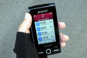 Sigma Rox 12 ciclismo