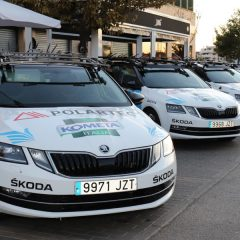 Škoda, con Bicis para la Vida y la Fundación Contador