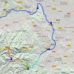 Girona Gravel Ride mapa