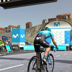 Movistar Team se suma a la competición online con Movistar Virtual Cycling