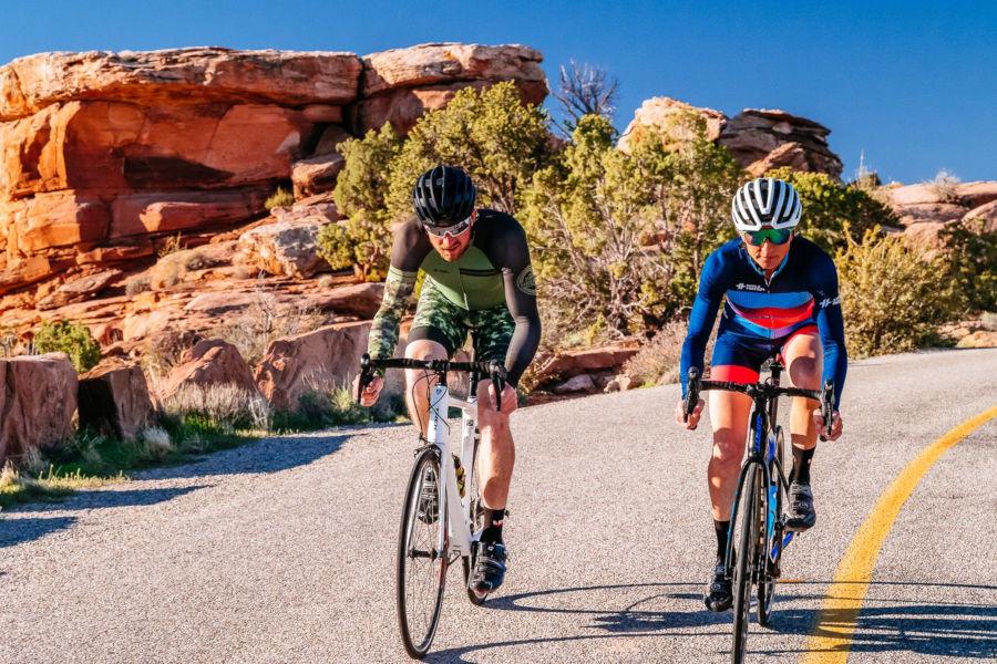 Road Cycling Adventure Desert Utah