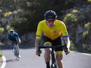 Santini La Vuelta maillot Asturias