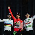 Roglič, Valverde, Pogačar: podio de lujo en La Vuelta