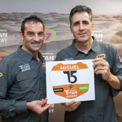 Indurain se estrena en el mountain bike en la Titan Desert