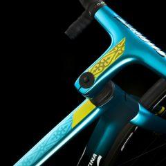 El Astana, con bicicletas Wilier