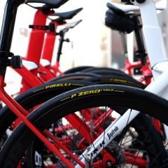 El Trek-Segafredo, con neumáticos Pirelli