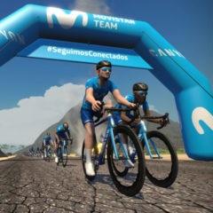 Pedalea con Valverde y el Movistar en Zwift