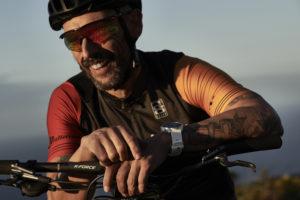 Polar Grit X cycling