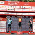 Luis León Sánchez y Mavi García triunfan en los Campeonatos de España