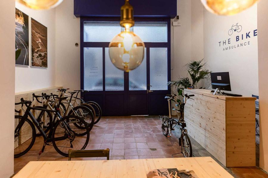 The Bike Ambulance tienda